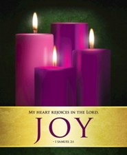 Joy Advent Sunday 3 Large Bulletins, Pack of 50