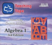 Saxon Math Algebra 1 Teaching Tape Full Set DVDs, 3rd Edition