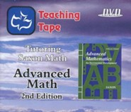 Saxon Math Advanced Math Teaching Tape Full Set DVDs, 2nd Edition