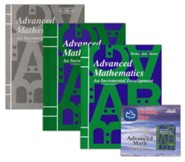 Saxon Math Advanced Math, 2nd Edition Home Study Kit & Teaching Tape Technology DVD Set Bundle