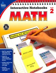 Interactive Notebooks Math, Grade 2