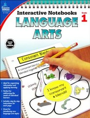 Interactive Notebooks Language Arts, Grade 1