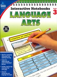 Interactive Notebooks Language Arts, Grade 3