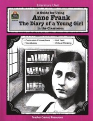 Anne Frank: The Diary of a Young Girl Literature Guide, Gr. 5-8