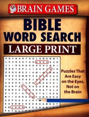 Bible Word Search: Large Print