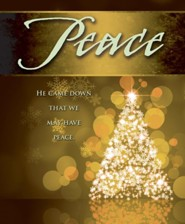 Peace Tree Advent Large Bulletins, Pack of 50