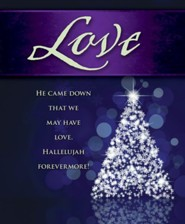 Love Tree Advent Large Bulletins, Pack of 50