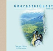 Character Quest: Volume 2, Revised: Teacher Edition with CD-ROM