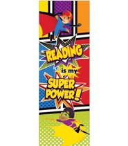 Super Power Bookmarks, Grades K-5