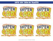 VBS 2017 Super God! - Super Me! Super-Possibility! - Iron-On Transfers (Pkg of 12)