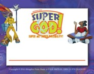 VBS 2017 Super God! - Super Me! Super-Possibility! - Nametags (Pkg of 24)  -