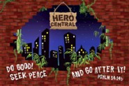 VBS 2017 Hero Central: Discover Your Strength in God! - Decorating Mural