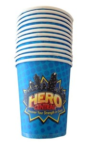 VBS 2017 Hero Central: Discover Your Strength in God! - Cups (Pkg of 12)