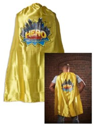 VBS 2017 Hero Central: Discover Your Strength in God! - Adult Cape with Logo