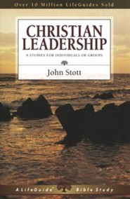 Christian Leadership, LifeGuide Topical Bible Studies