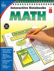 Interactive Notebooks Math, Grade 8