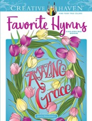Favorite Hymns Coloring Book