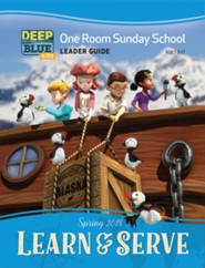 Deep Blue: One Room Sunday School Leader Guide, Spring 2018