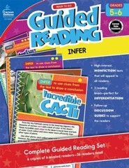 Ready to Go Guided Reading: Infer, Grades 5-6