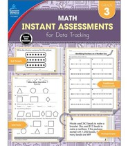 Math Instant Assessments for Data Tracking, Grade 3