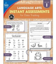 Language Arts Instant Assessments for Data Tracking, Grade 1