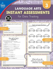 Language Arts Instant Assessments for Data Tracking, Grade 3
