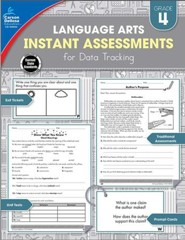 Language Arts Instant Assessments for Data Tracking, Grade 4