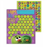 VeggieTales Mini Reward Charts with Stickers