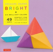 Origami Paper Bright with 8 page booklet