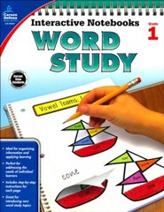 Interactive Notebooks: Word Study, Grade 1