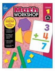 Math Workshop, Grade 1: A Framework for Guided Math and Independent Practice