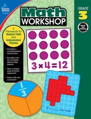 Math Workshop, Grade 3: A Framework for Guided Math and Independent Practice