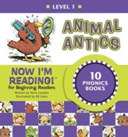 Now I'm Reading! Level 1: Animal Antics - eBook