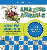 Now I'm Reading! Level 2: Amazing Animals - eBook