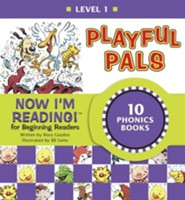 Now I'm Reading! Level 1: Playful Pals - eBook