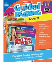 Ready to Go Guided Reading: Analyze, Grades 3 & 4