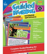 Ready to Go Guided Reading: Determine Importance, Grades 1 & 2