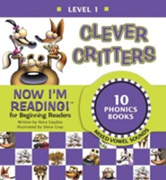 Now I'm Reading! Level 1: Clever Critters (Mixed Vowel Sounds) - eBook