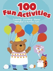 100 Fun Activities-Blue