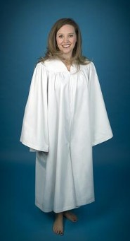 Culotte Baptismal Robe for Women, Small