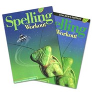 Modern Curriculum Press Spelling Workout Grade 3 Homeschool Bundle (2002 Edition)