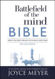 Battlefield of the Mind Bible: Renew Your Mind Through the Power of God's Word - eBook