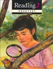 BJU Reading Grade 2, Student Worktext