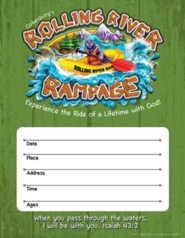 Rolling River Rampage: Small Promotional Posters (Pkg of 2)