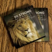 Be Strong & Courageous, Joshua 1:9 Coasters, Set of 2