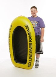 Rolling River Rampage: Inflatable Raft