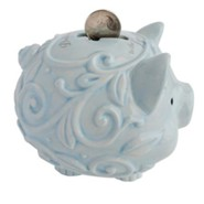 Dedicated to the Lord Piggy Bank, Blue