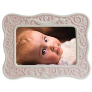 Dedicated to the Lord Photo Frame, Pink