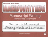 Original Handwriting: Manuscript Writing, Book M