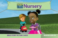 Deep Blue: Nursery Bible Story Picture Cards, Winter 2018-19